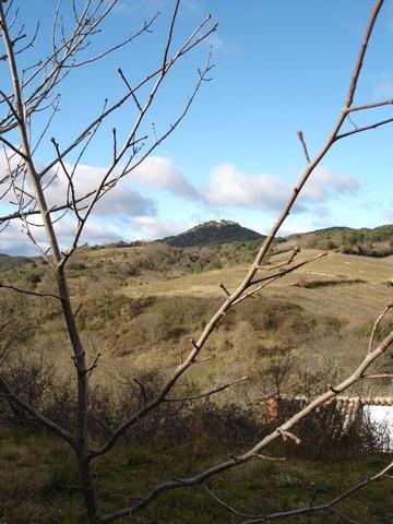 Vue sur Tantajo au loin
